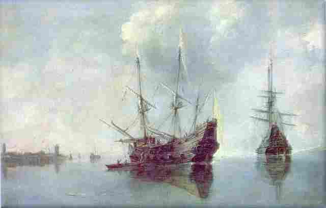 средневековых кораблей
